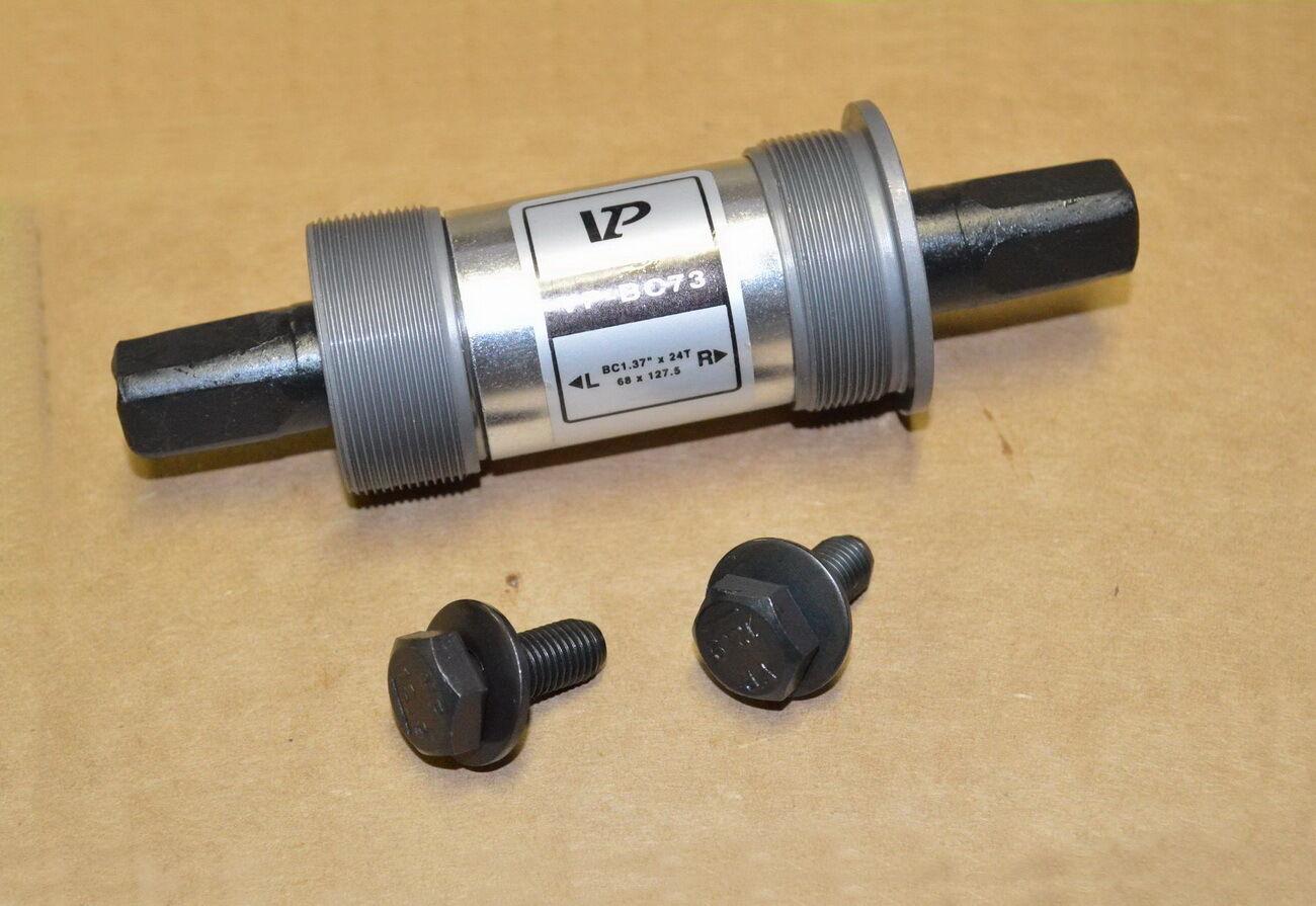 Bicycle Bike Bottom Bracket 68x113mm//68x124.5mm//68x127.5mm Square Taper Bracket