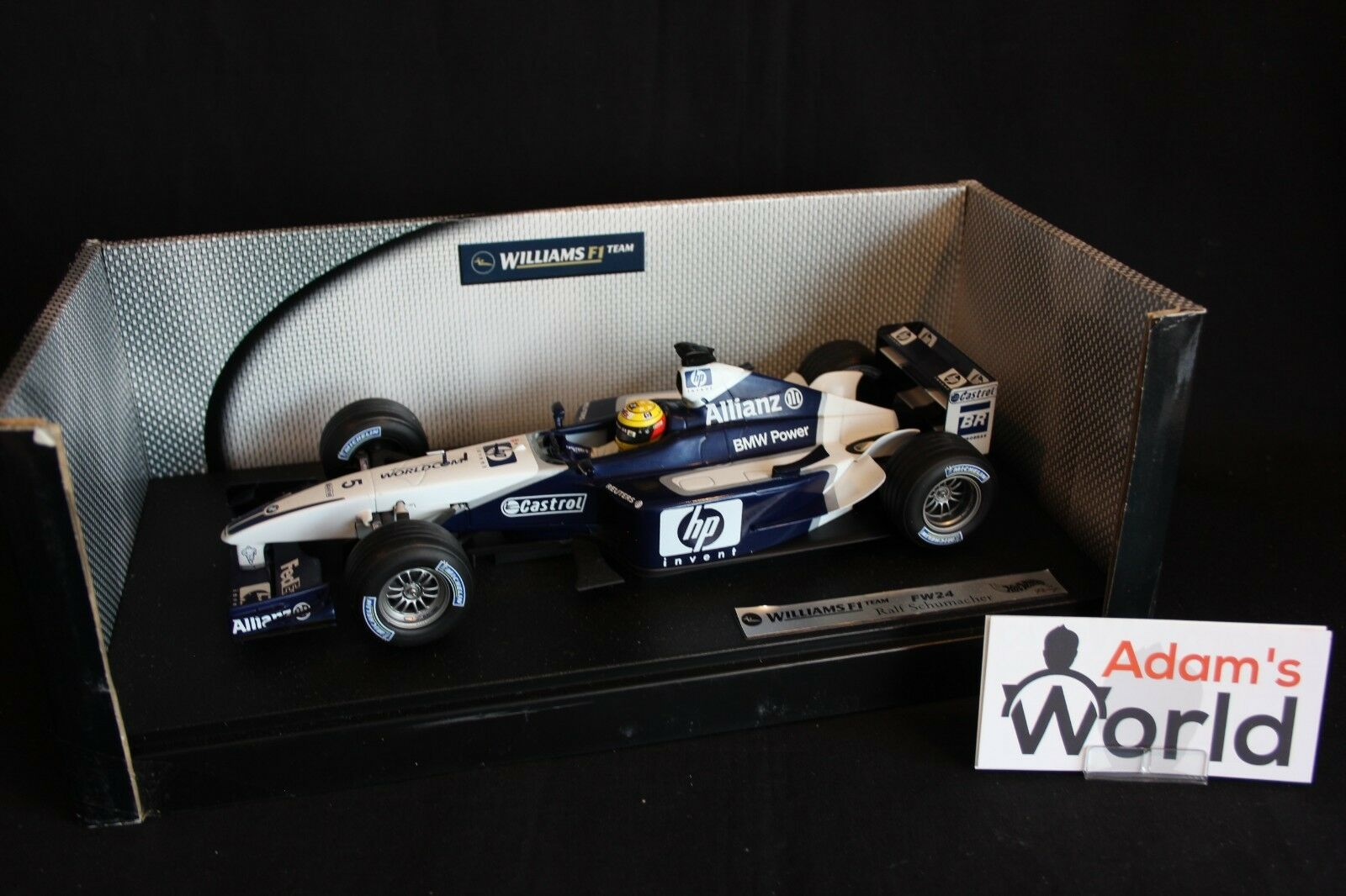 Hot Wheels Williams BMW FW24 2002 1 18 Ralf Schumacher (GER)