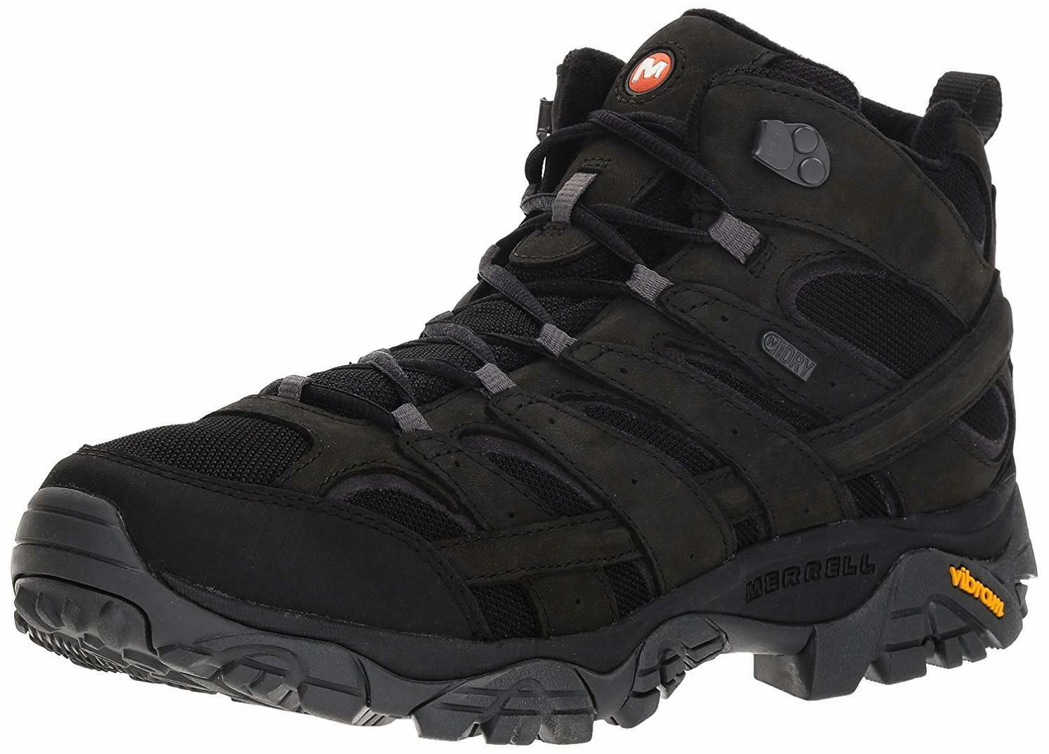 on sale 7e53a 9819b Merrell Men s Moab 2 Smooth Mid Waterproof Hiking Boot, - Choose SZ color