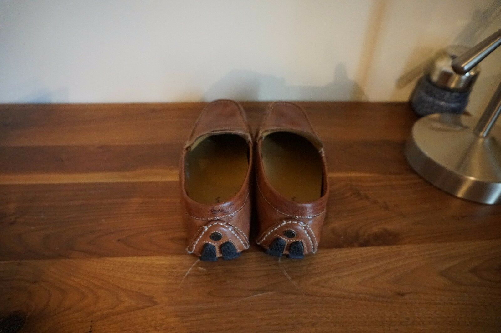 COLE SIZE HAAN LOAFER- BROWN LEATHER SIZE COLE 10 38799c