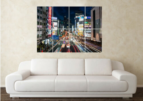 Large China Oriental Landscape City Time Lapse Wall Poster Art Picture Print