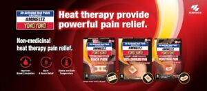 Ammeltz Yoko Yoko Air Activated Heat 2 Patches For Neck & Shoulder Pain Relief