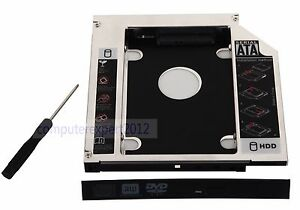 DY-tech SATA to SATA 2nd 2.5 HDD SSD Hard Drive Caddy for HP ProBook 4540S 4545S 4740S