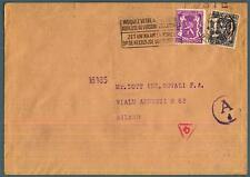 BELGIO - BELGIUM - 1944 - Lettera affrancata per 35 cent. -