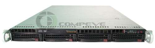 Supermicro 1U Rack Server w// Xeon Dual Core 5140 CPU 2.33GHz//1GB RAM X7DBU