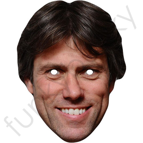 Richard Osman Celebrity Card Face Mask All Our Masks Are Pre-Cut Pointless