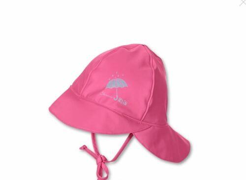 Sterntaler Regenhut mit Nackenschutz 55 hortensie Baby Kinder Bekleidung regen