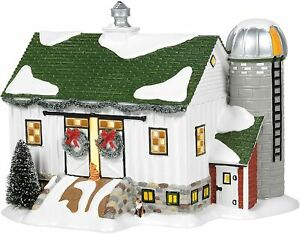 Crooked-Creek-Farm-Dept-56-6006978-Country-Living-Village-Christmas-house-snow-Z