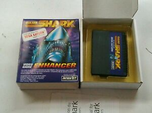SEGA-SATURN-GAME-SHARK-INTERACT-CHEAT-CODES-CHEATING-ON-GAMES-MINT-CONDITION