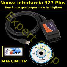 Interfaccia cavo USB DIAGNOSI AUTO OBD2 MULTIMARCA CAN-BUS COMPUTER PC