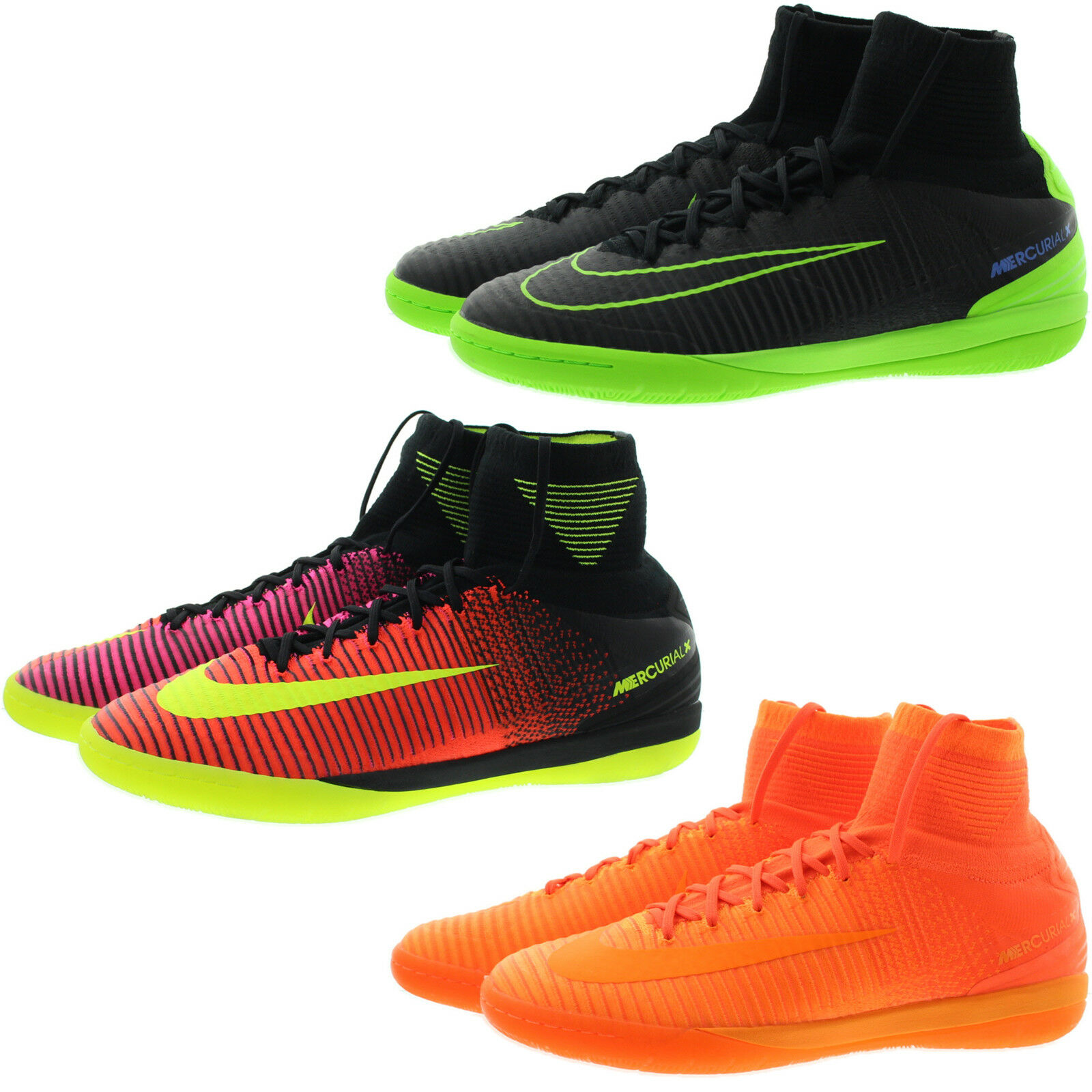 Nike 831976 Mens Mercurial IX Proximo II Indoor High Top Soccer shoes