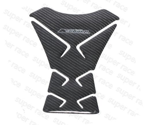 Nice 3D Carbon Fiber Kawasaki Z1000 Z800 Z750 Z250 Sticker Fule Tank Pad Decal