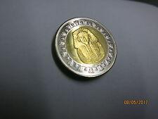 Tutanchamun 1 Pfund Münze ,Bimetall Ägypten, BANKFRISCH§§§§§§§§
