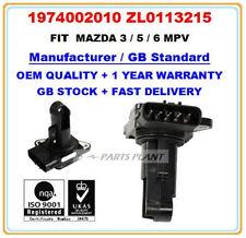MAZDA 2 3 5 6 MPV RX8 MX-5 Mass Air Flow meter Sensor ZL01-13-215 22204-0D020