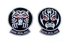 Zealand All Blacks Haka Embroided Iron On Patches For Sale Online Ebay
