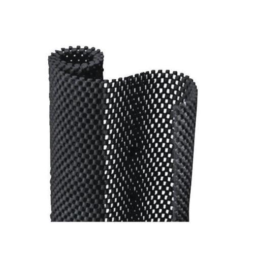 "6 Pk Con-Tact 12/"" X 4/' Black Grip Premium Nonadhesive Shelf Liner  04F-C6L51-01"