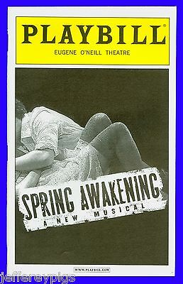 Playbill + Spring Awakening + Blake Daniel , Hunter Parrish , Matt Doyle