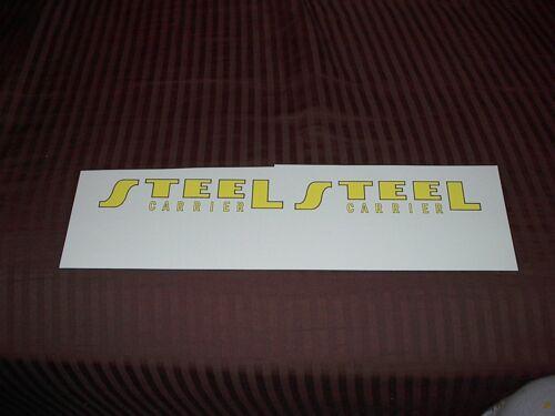 TONKA TRUCK STEEL CARRIER DECAL SET