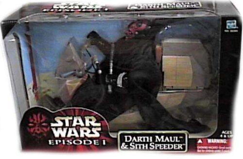 Star Wars Episode 1 Sith Speeder Vehicle w 12