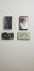 Vintage Lot of 2 Bon Jovi Music Cassette Tapes: New Jersey, 7800 Fah PRE-OWN