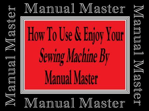 Máquina De Coser Singer extendida Modelo 185K manual de instrucciones folleto no Máquina