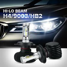 A Pair H4 HB2 9003 240W 24000LM PHILIPS CSP Headlight High/Low Beam Bulbs LED
