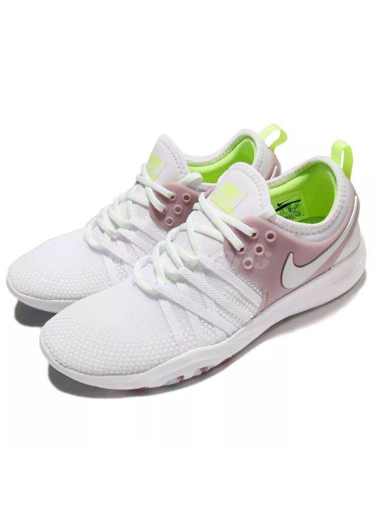 Mujeres Nike Free Tr Tr Tr 7 Talla 5.5 EUR 39 (904651 102) blancoo rosado Volt  comprar nuevo barato