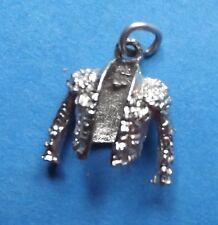 De colección chaqueta de pulsera de plata del encanto del Matador Torero