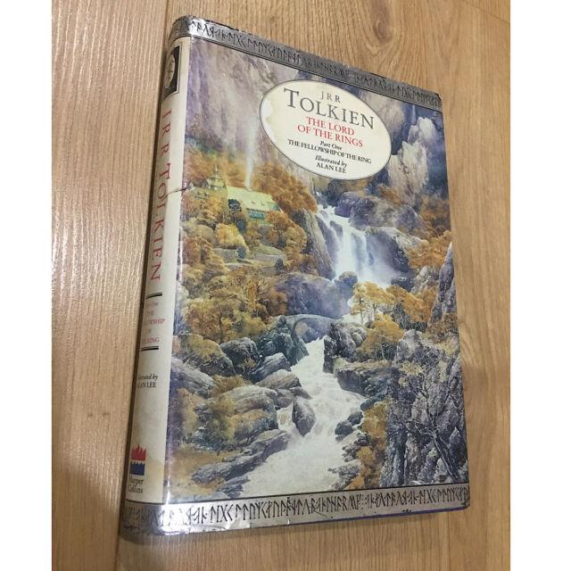 Tolkien; Lord of Rings Vol 1: Fellowship of the Ring Alan Lee hardback