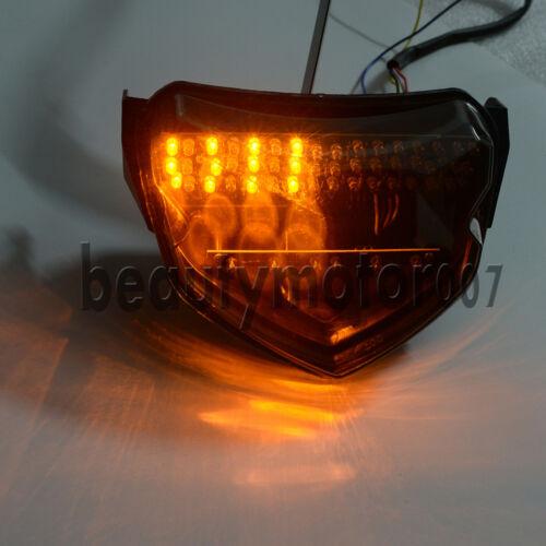 Smoke LED Turn Signal Tail Light for Suzuki GSXR GSX-R 600 750 2004 2005