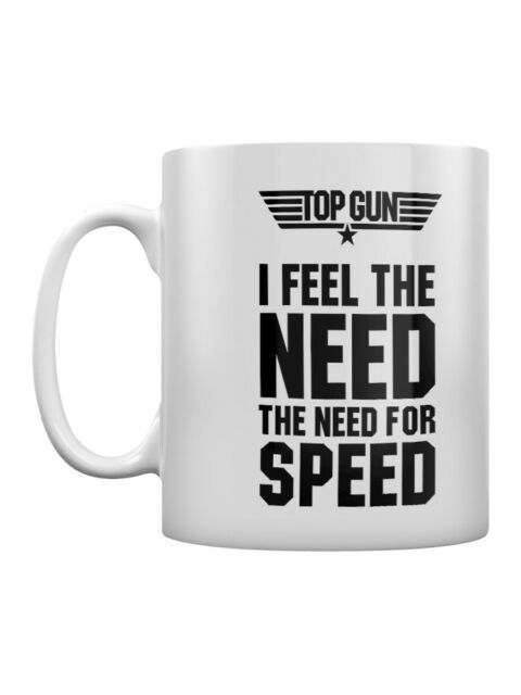 Top Gun Mug The Need For Speed Coffee White