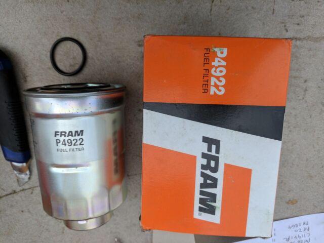 fram fuel filter p n p4922 ebay Fuel Filter Diagram fram fuel filter p n p4922