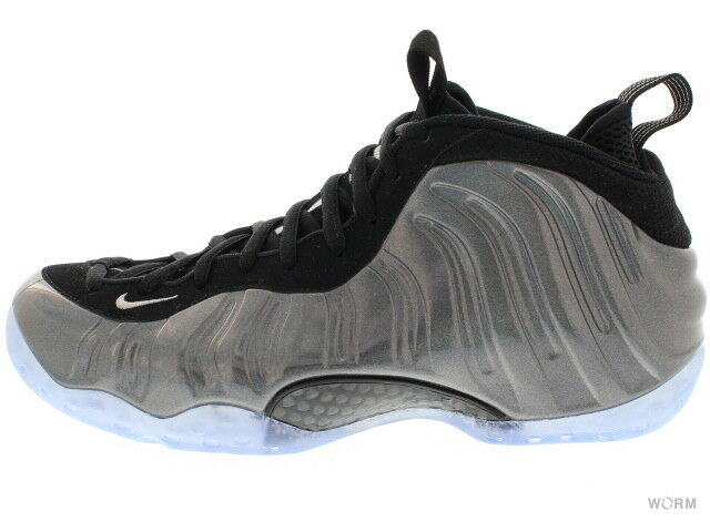 NIKE AIR FOAMPOSITE ONE 314996-900 multi-color/mtllc silver-blk Size 10