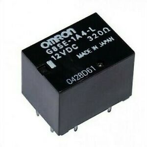 Rele ' Omron G8SE-1A4 G8SE1A4 12VDC ECU Siemens Mitsubishi Intelligent Forfour