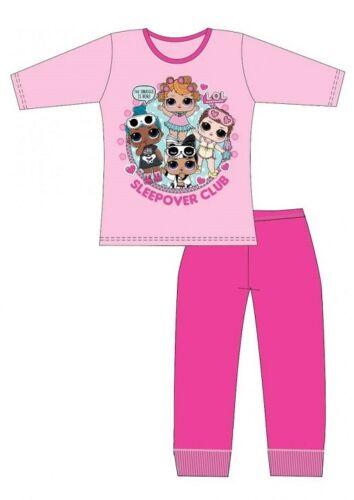 Girls LOL Surprise Dolls Pyjamas Kids Pjs Childrens Sleepwear Size 4-10 Years