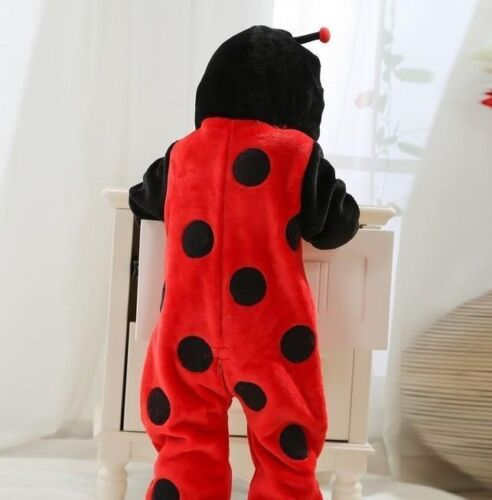 Baby Kids Animal Fancy Dress Party Costume Plush Outfit DUCK LADYBIRD TIGER BEE