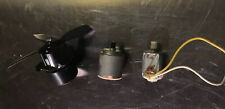 Lot 3 Small Electric Motors Hobby Motor With Gears Battery See Pics