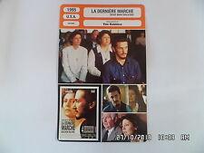 CARTE FICHE CINEMA 1995 LA DERNIERE MARCHE Susan Sarandon Sean Penn Prosky