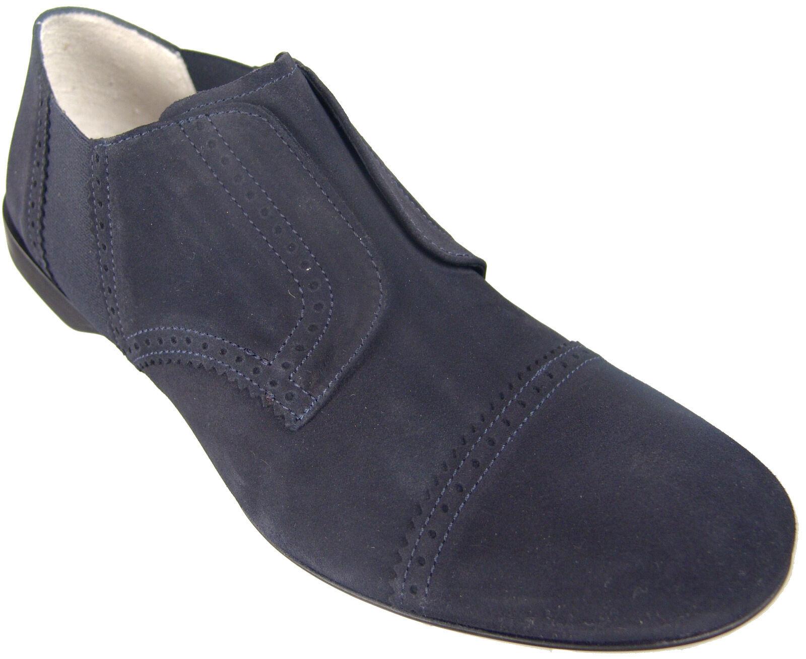 CESARE PACIOTTI US 7 COMFORTABLE SUEDE LOAFERS ITALIAN DESIGNER MENS scarpe