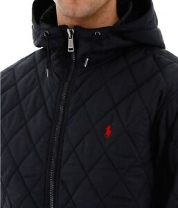 Polo-Ralph-Lauren-Men-039-s-Henson-Quilted-Hooded-Jacket-Size-L