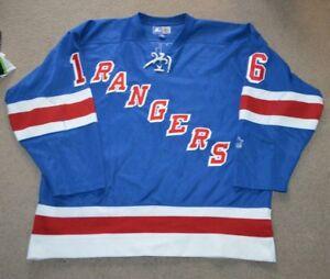 Vtg Pat Lafontaine New York Rangers Starter NHL Hockey Jersey 2XL ... e0a993c3b