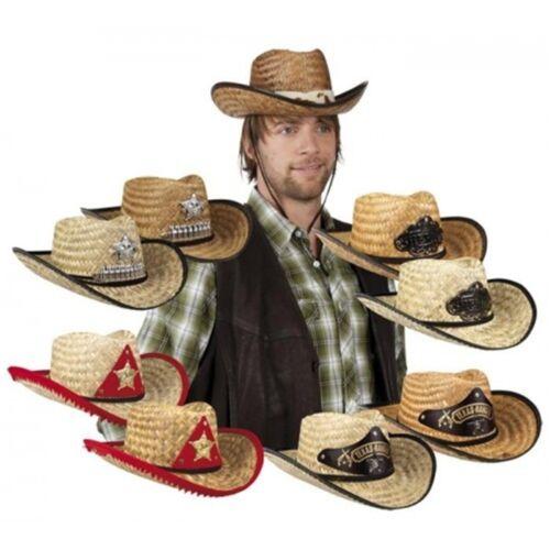 Cowboy Westen Western Lady Hut Herren Damen Kostüm Kleid Cowboyhut Cowboykostüm