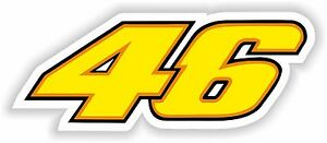 46-Valentino-Rossi-Sticker-Motorcycle-Gas-Tank-Bumper-Helmet-Top-Case-Car