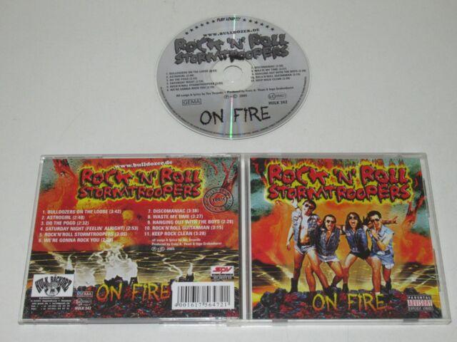 ROCK 'N' ROLL STORMTROOPERS/ON FIRE(HULK 342) CD ALBUM