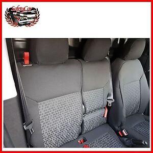 Fodera Sitzbezug maßgeschnieder<wbr/>t Fiat Doblò 3-Sitzer von '15 auf Fiat Doblo