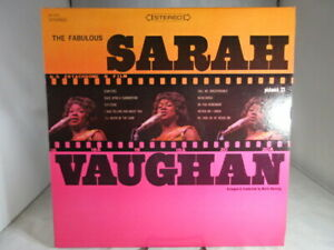 The-Fabulous-Sarah-Vaughan-LP-Record-PICKWICK-SPC-3035-VG-cover-NM