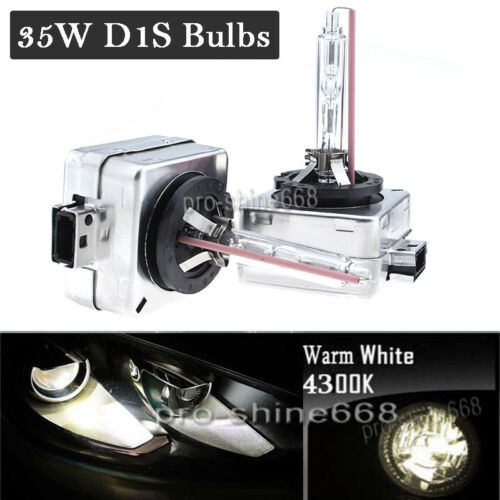 D1S 6K 8K 10K HID Xenon Headlight Bulbs Replace for Osram or Philips For Lincoln