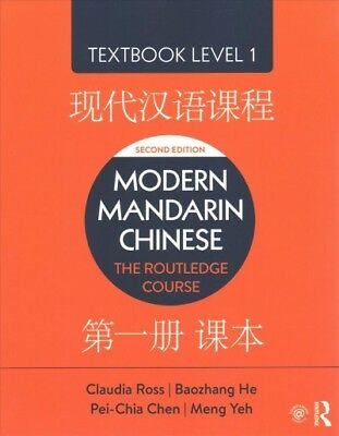 Modern Mandarin Chinese Level 1 The Routledge Course Textbook Paperback B EBay