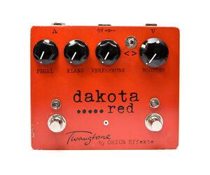 Orion-Effekte-Twangtone-Dakota-Red-overdrive-and-booster-Tweedsound