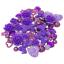 80-Melange-Shabby-chic-resine-Flatbacks-Craft-Cardmaking-embellissements-15-couleurs miniature 34